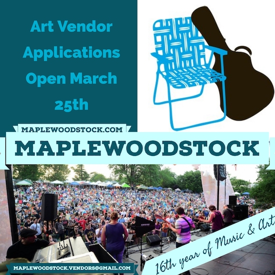 Art Vendor applications coming March 25, 2019